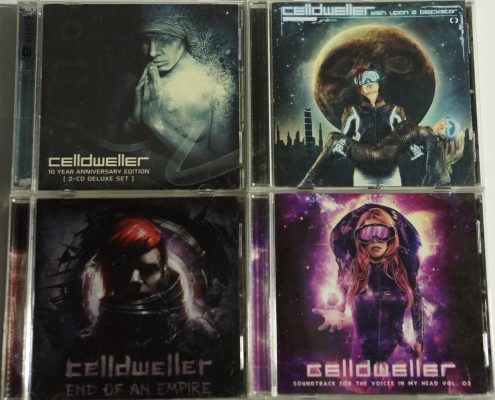 Celldweller Alben CDs Wish upon a blackstar, soundtrack for the voice in my head,